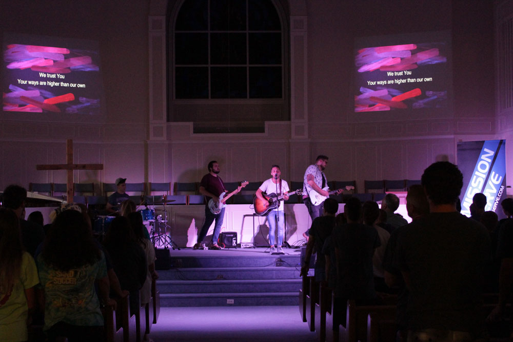 What a powerful night of worship here in Forest City tonight